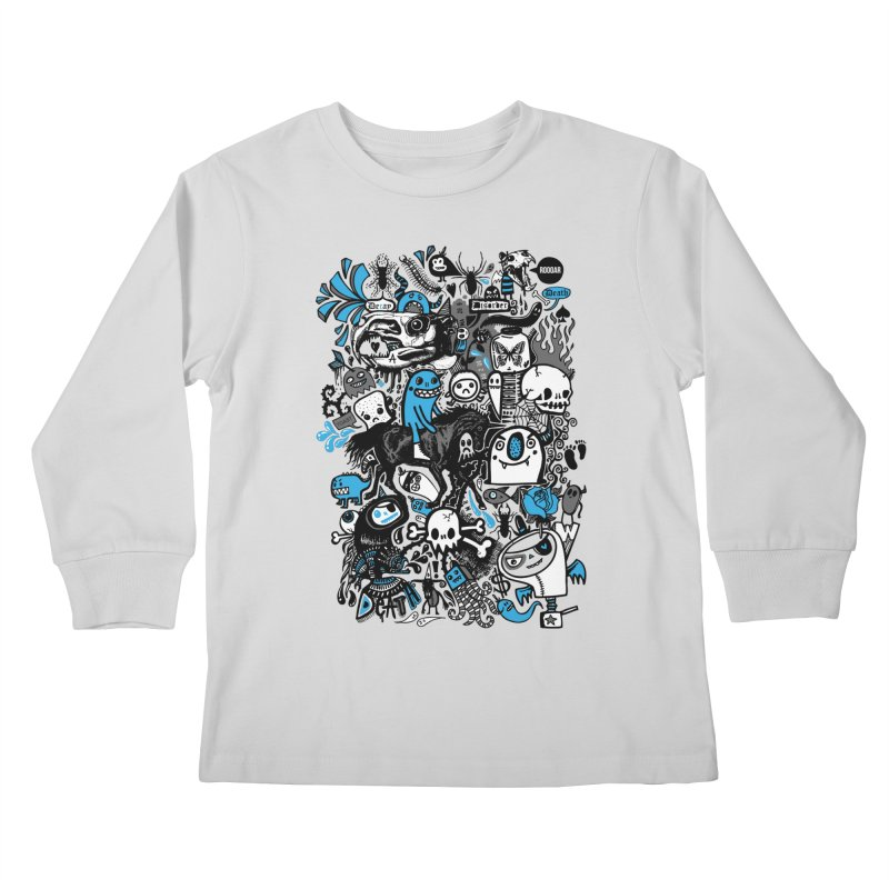Guilty Pleasures Kids Longsleeve T-Shirt by wotto's Artist Shop