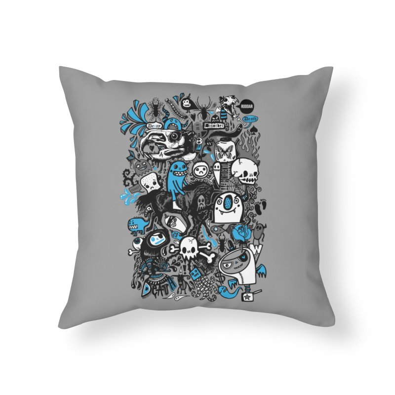 Guilty Pleasures Home Throw Pillow by wotto's Artist Shop