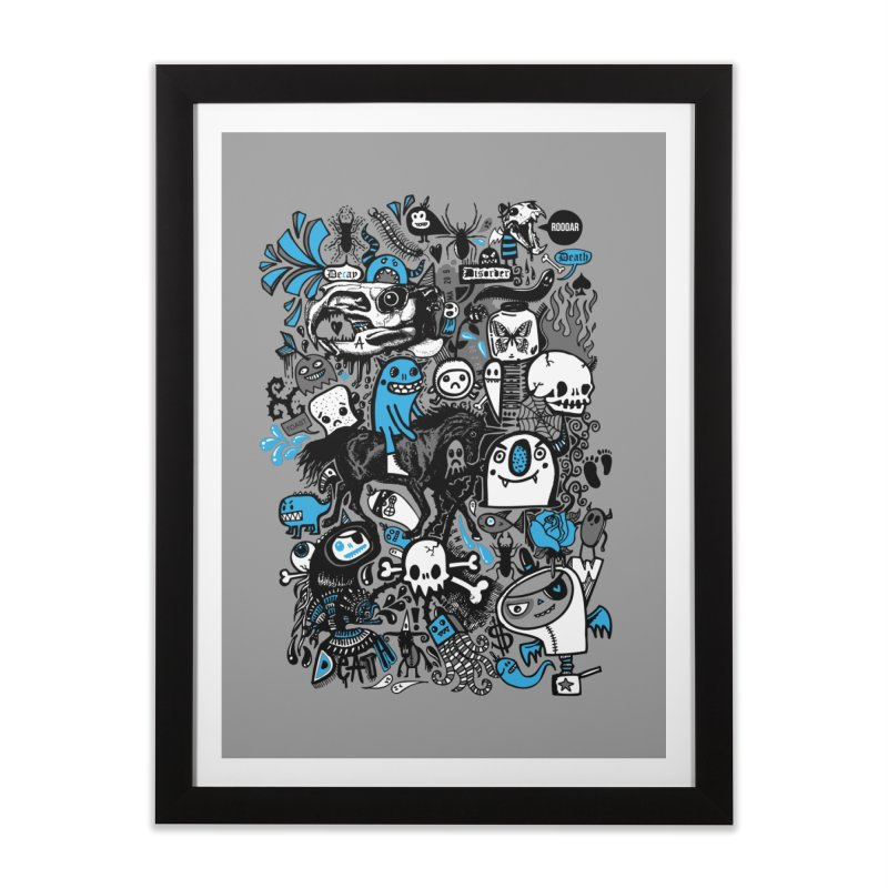 Guilty Pleasures Home Framed Fine Art Print by wotto's Artist Shop