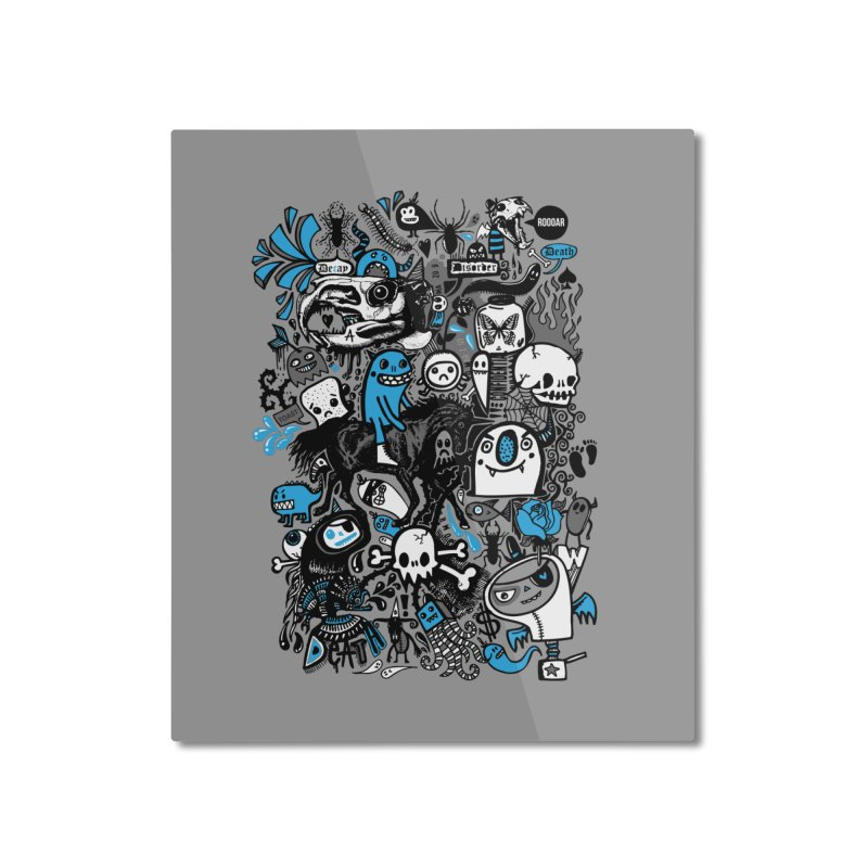 Guilty Pleasures Home Mounted Aluminum Print by wotto's Artist Shop
