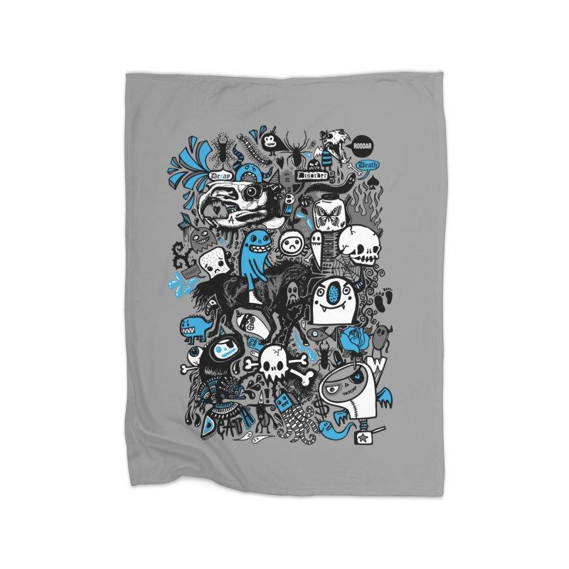 Guilty Pleasures Home Fleece Blanket Blanket by wotto's Artist Shop