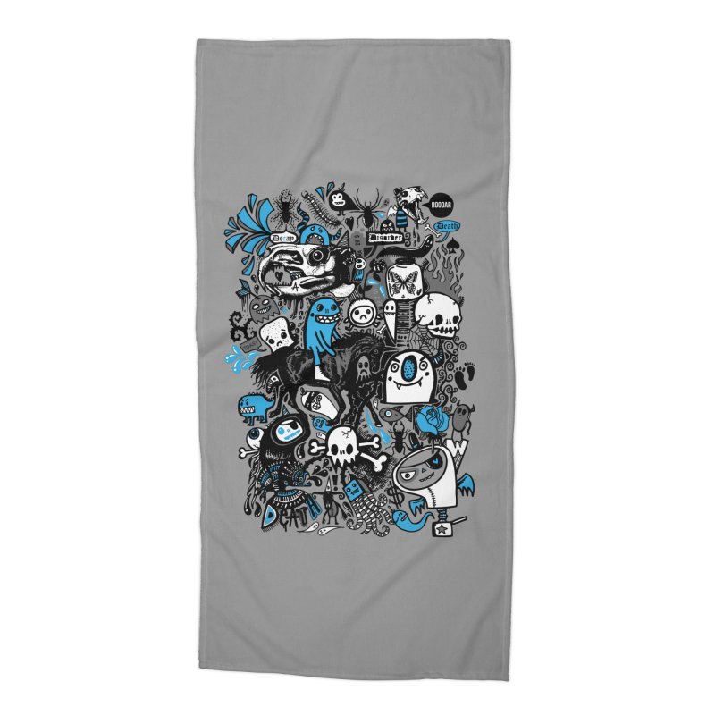 Guilty Pleasures Accessories Beach Towel by wotto's Artist Shop