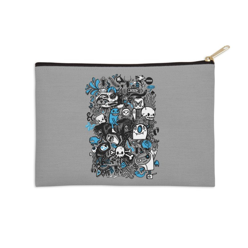 Guilty Pleasures Accessories Zip Pouch by wotto's Artist Shop