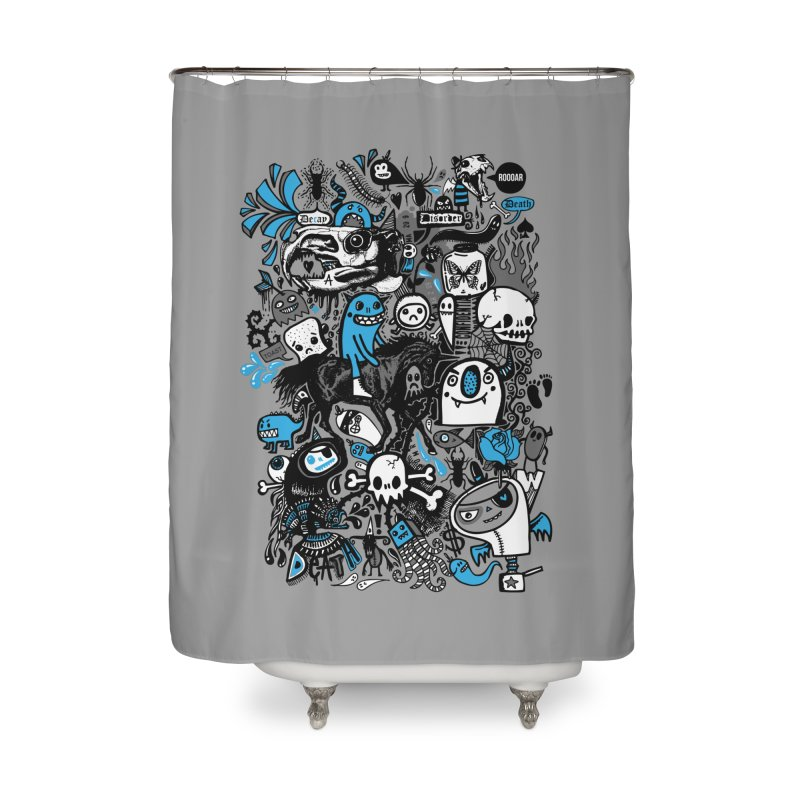Guilty Pleasures Home Shower Curtain by wotto's Artist Shop