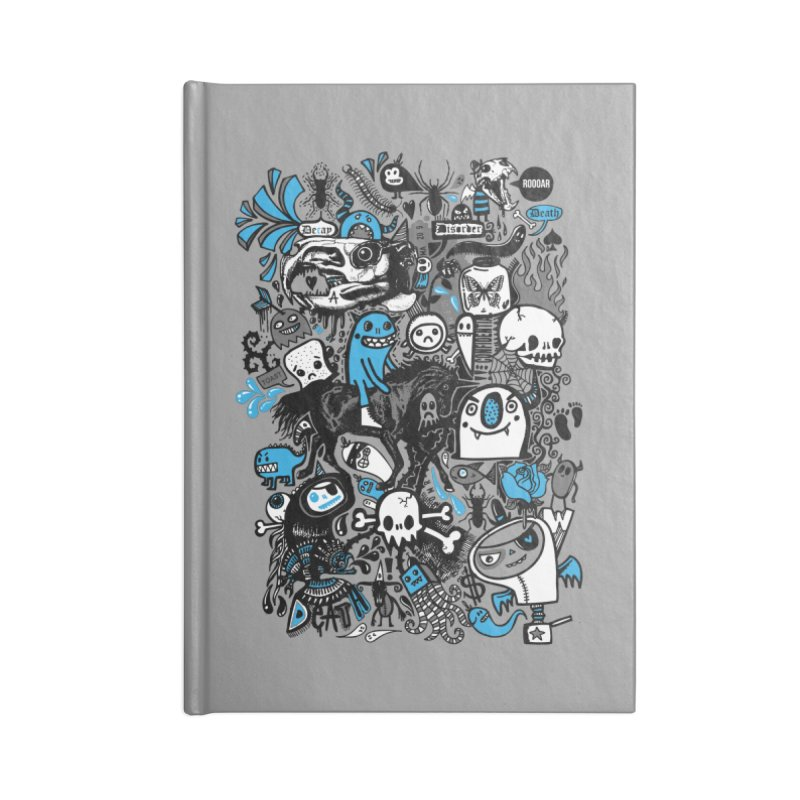 Guilty Pleasures Accessories Lined Journal Notebook by wotto's Artist Shop