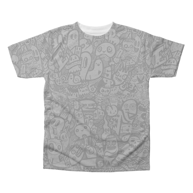 Doodlers Dynasty Men's Triblend All Over Print by wotto's Artist Shop