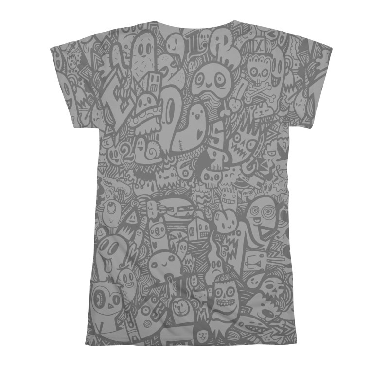 Doodlers Dynasty Women's All Over Print by wotto's Artist Shop