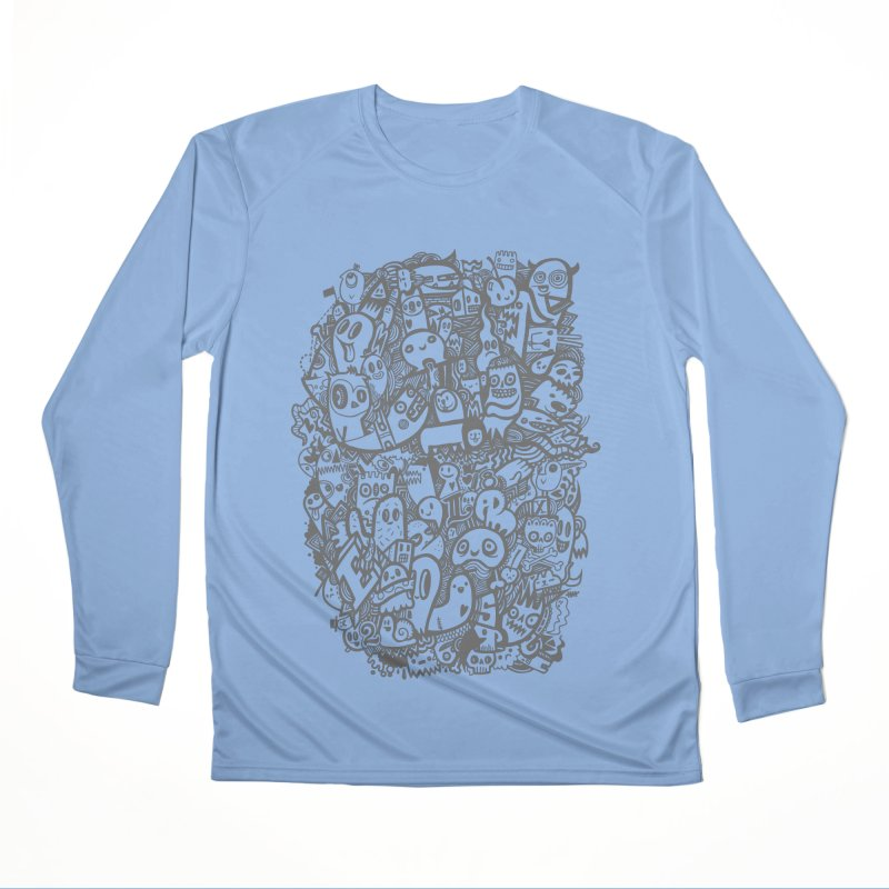 Doodlers Dynasty Men's Longsleeve T-Shirt by wotto's Artist Shop