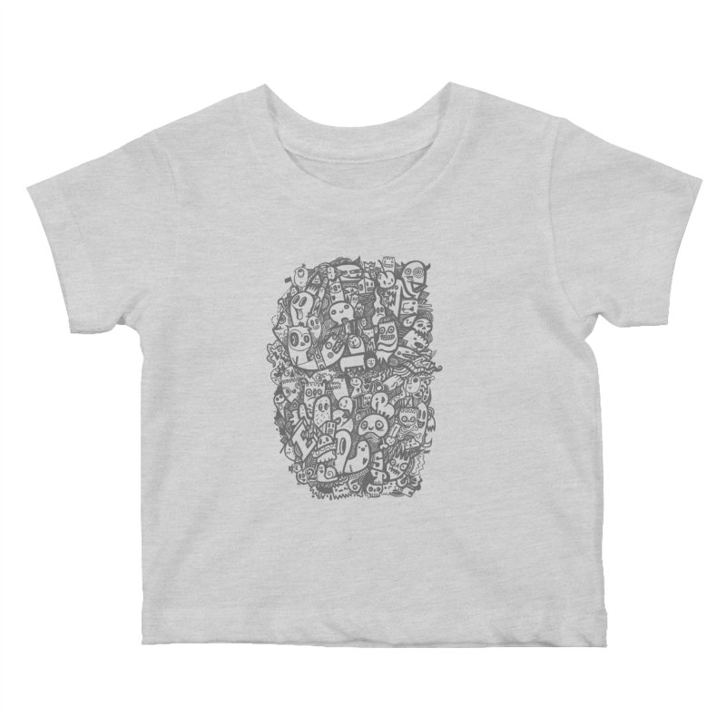 Doodlers Dynasty Kids Baby T-Shirt by wotto's Artist Shop