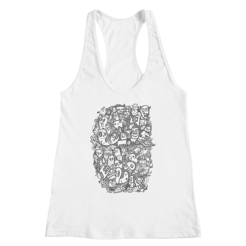 Doodlers Dynasty Women's Racerback Tank by wotto's Artist Shop