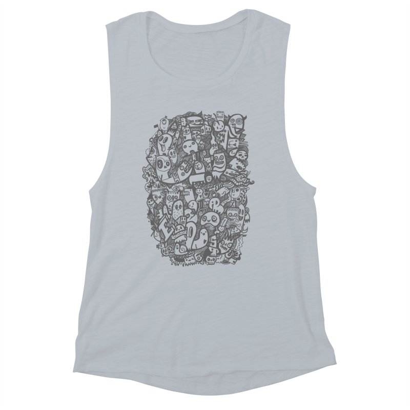 Doodlers Dynasty Women's Muscle Tank by wotto's Artist Shop