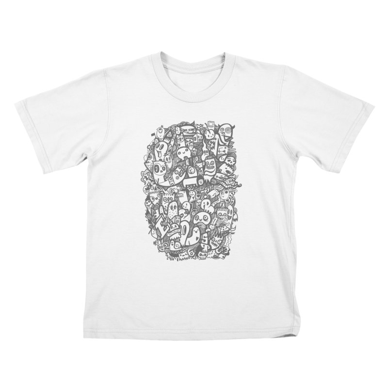 Doodlers Dynasty Kids T-Shirt by wotto's Artist Shop
