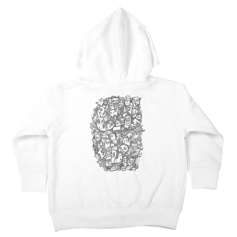 Doodlers Dynasty Kids Toddler Zip-Up Hoody by wotto's Artist Shop