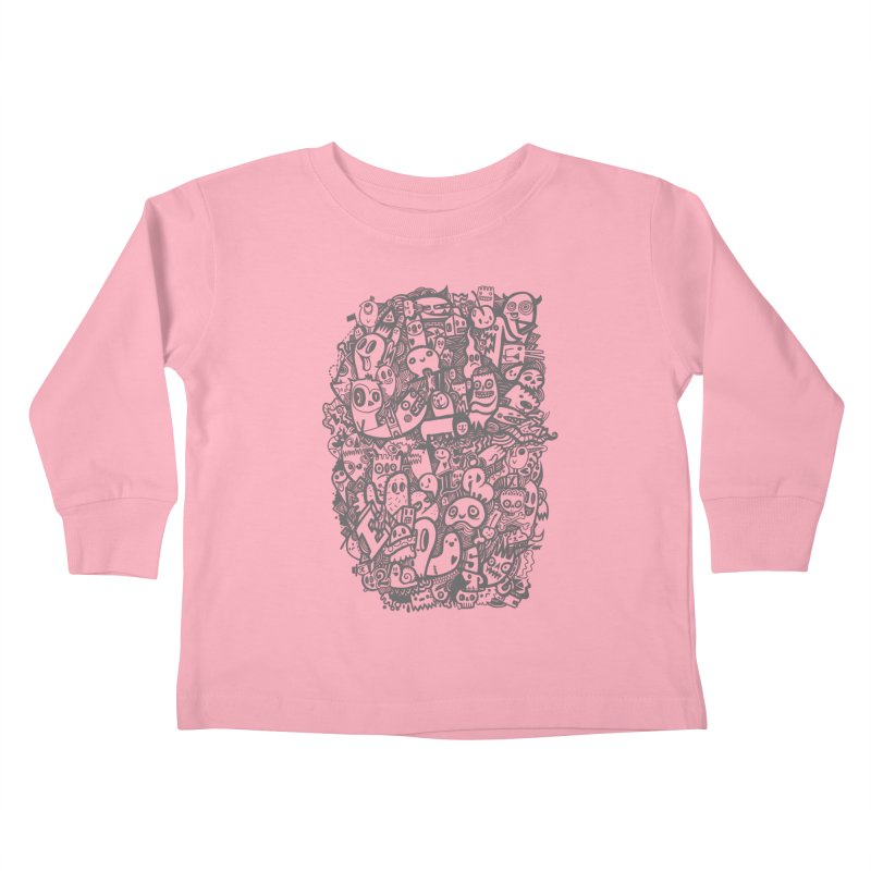 Doodlers Dynasty Kids Toddler Longsleeve T-Shirt by wotto's Artist Shop
