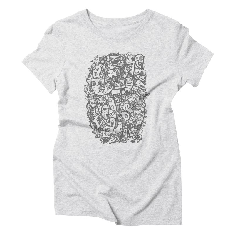 Doodlers Dynasty Women's Triblend T-Shirt by wotto's Artist Shop