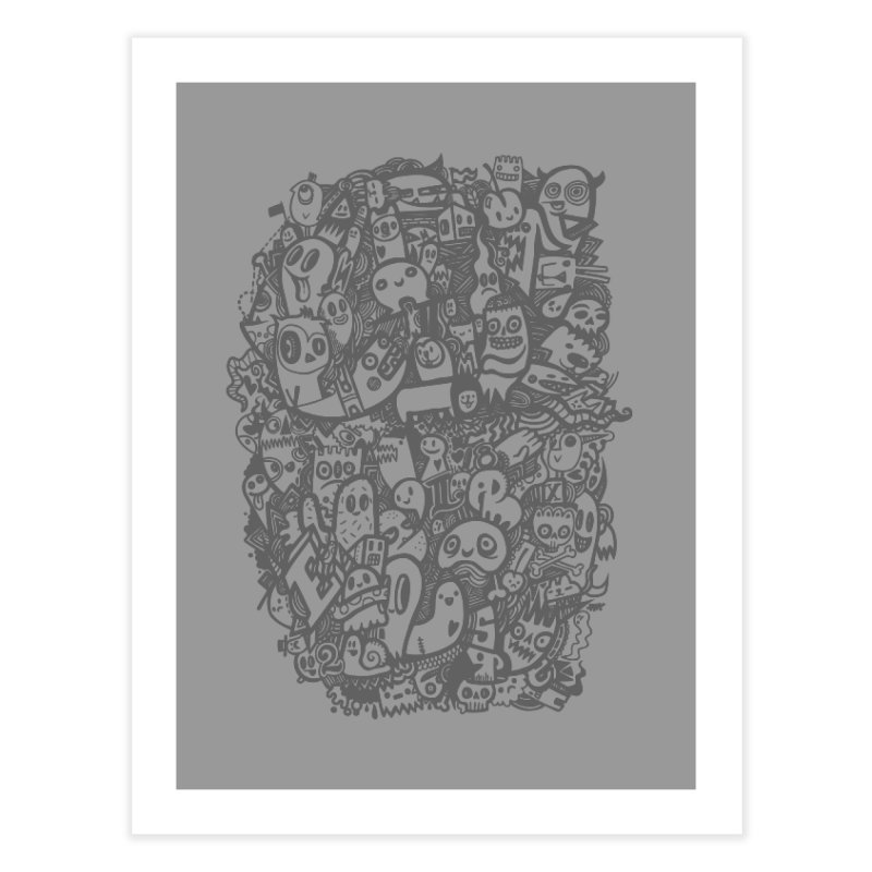 Doodlers Dynasty Home Fine Art Print by wotto's Artist Shop