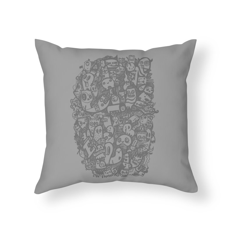 Doodlers Dynasty Home Throw Pillow by wotto's Artist Shop