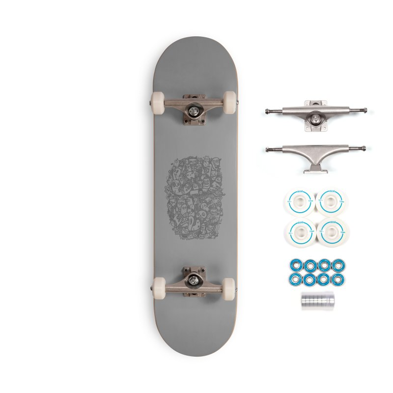Doodlers Dynasty Accessories Complete - Basic Skateboard by wotto's Artist Shop