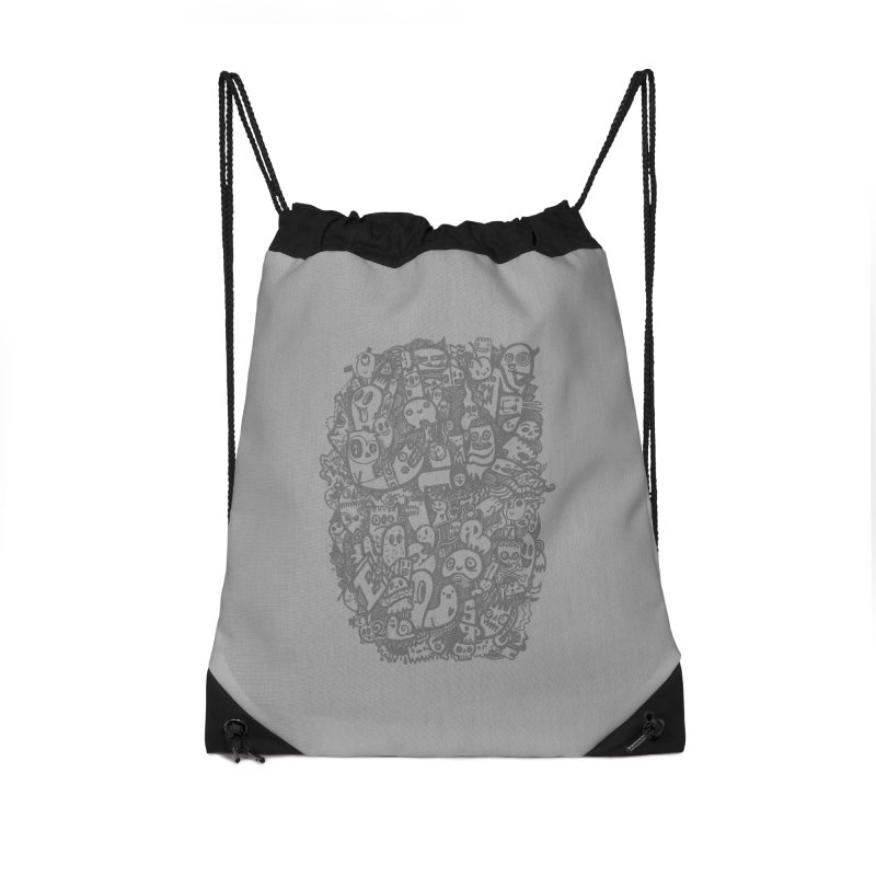 Doodlers Dynasty Accessories Drawstring Bag Bag by wotto's Artist Shop