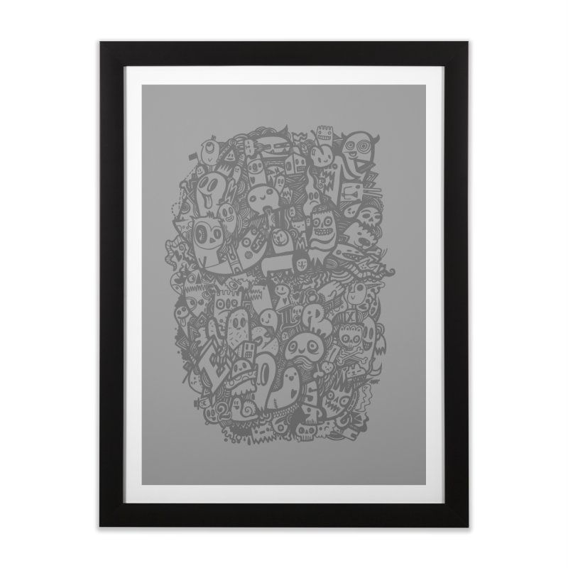 Doodlers Dynasty Home Framed Fine Art Print by wotto's Artist Shop