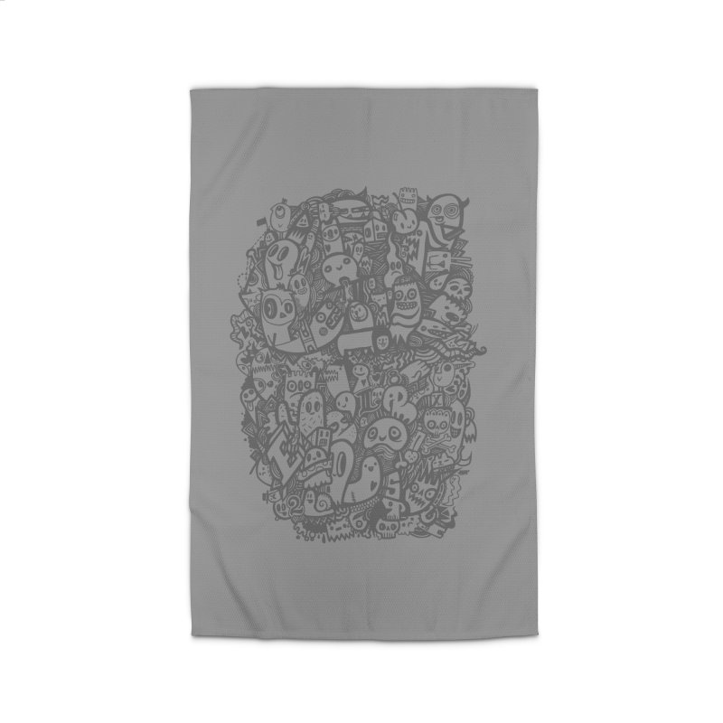 Doodlers Dynasty Home Rug by wotto's Artist Shop