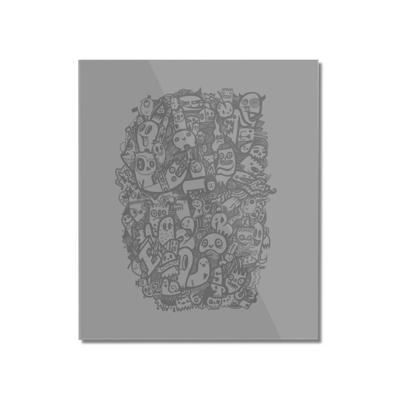Doodlers Dynasty Home Mounted Acrylic Print by wotto's Artist Shop