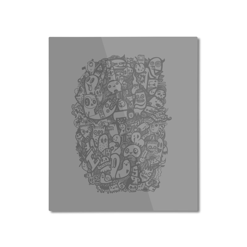 Doodlers Dynasty Home Mounted Aluminum Print by wotto's Artist Shop