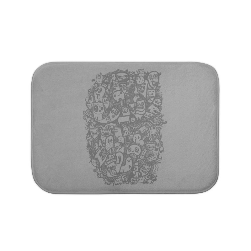 Doodlers Dynasty Home Bath Mat by wotto's Artist Shop