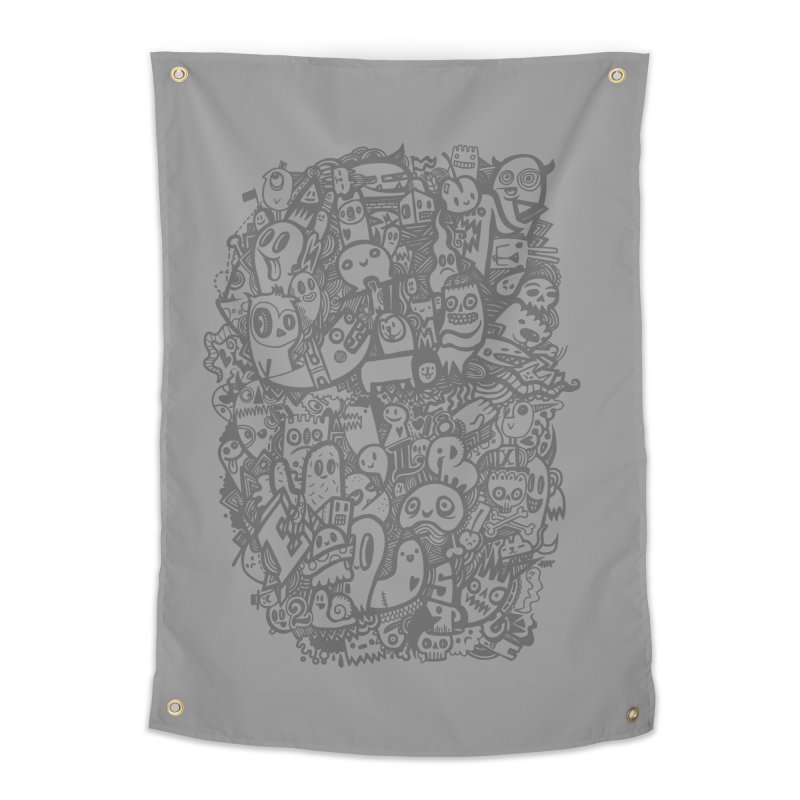 Doodlers Dynasty Home Tapestry by wotto's Artist Shop