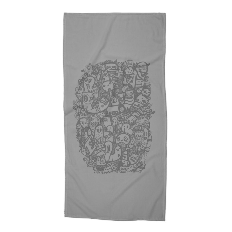 Doodlers Dynasty Accessories Beach Towel by wotto's Artist Shop