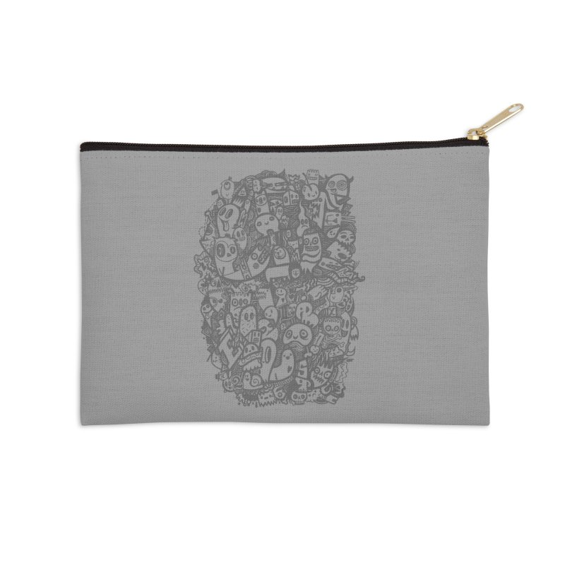 Doodlers Dynasty Accessories Zip Pouch by wotto's Artist Shop
