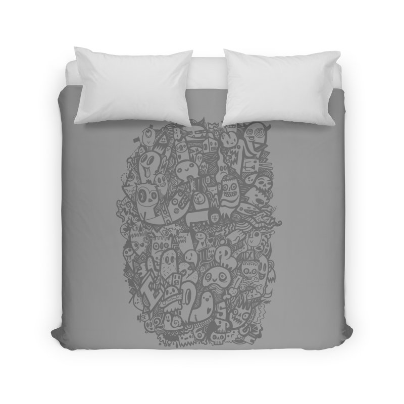 Doodlers Dynasty Home Duvet by wotto's Artist Shop