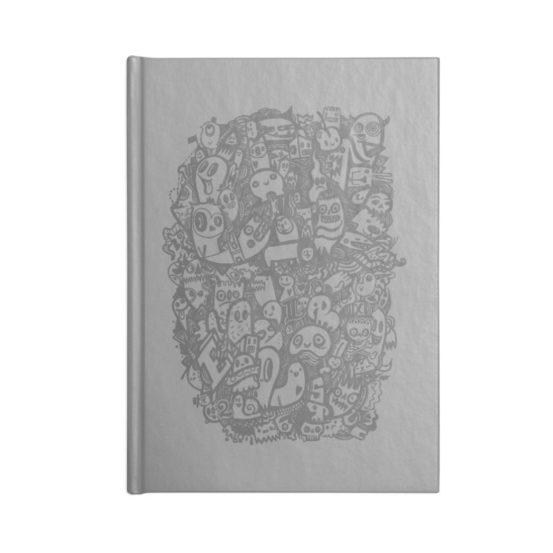 Doodlers Dynasty Accessories Lined Journal Notebook by wotto's Artist Shop