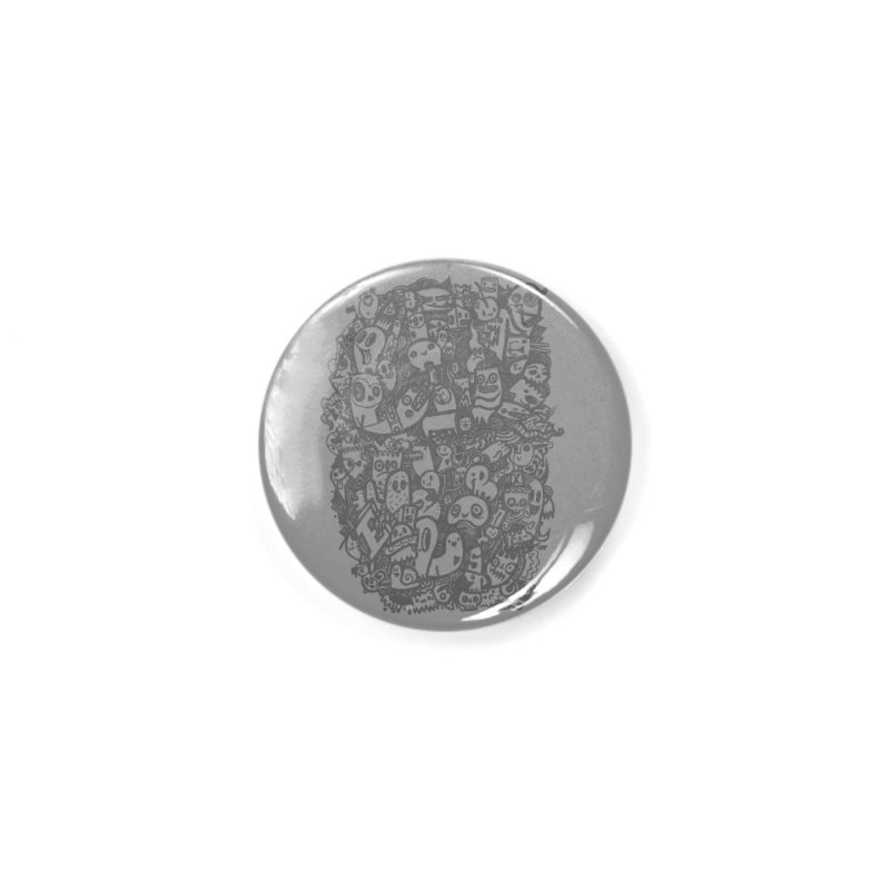 Doodlers Dynasty Accessories Button by wotto's Artist Shop