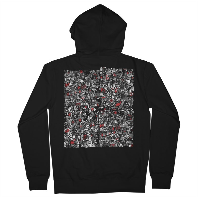 All of the Things Men's French Terry Zip-Up Hoody by wotto's Artist Shop