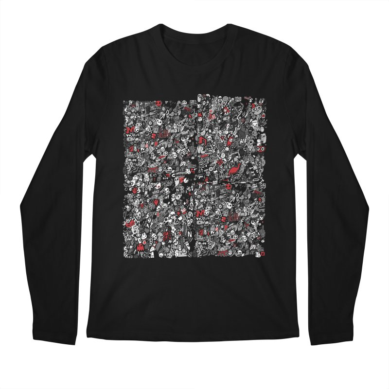All of the Things Men's Regular Longsleeve T-Shirt by wotto's Artist Shop