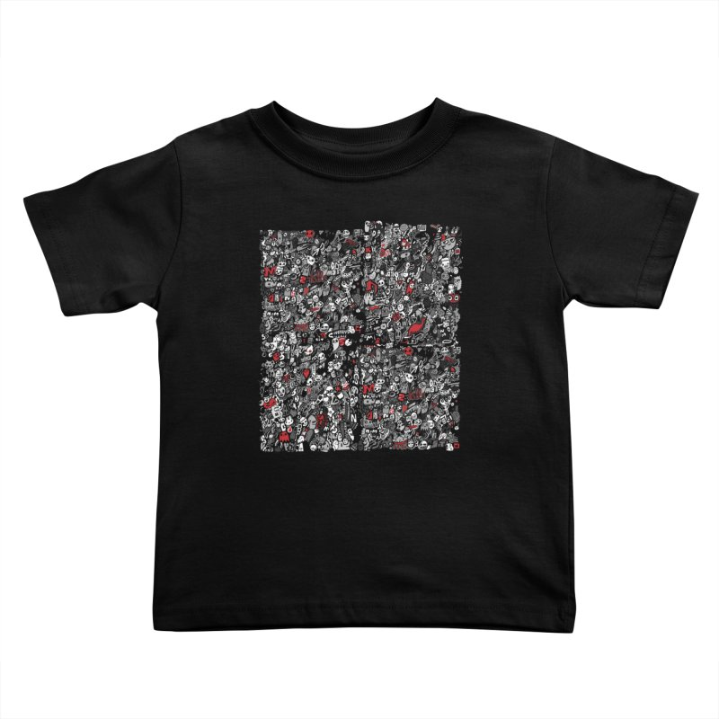 All of the Things Kids Toddler T-Shirt by wotto's Artist Shop