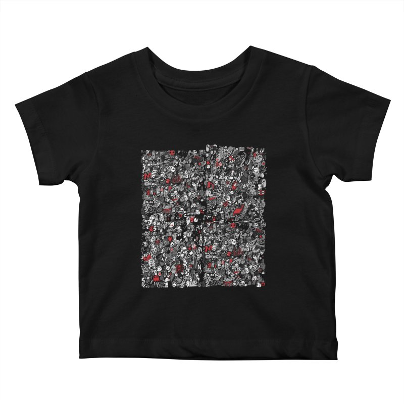 All of the Things Kids Baby T-Shirt by wotto's Artist Shop
