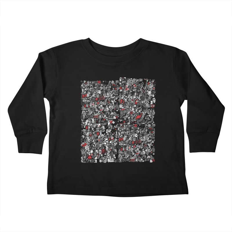 All of the Things Kids Toddler Longsleeve T-Shirt by wotto's Artist Shop