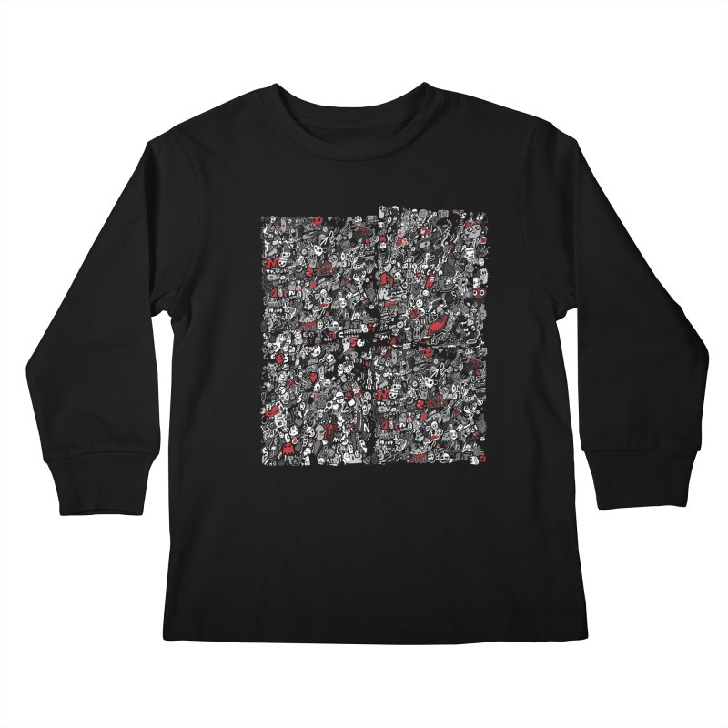 All of the Things Kids Longsleeve T-Shirt by wotto's Artist Shop