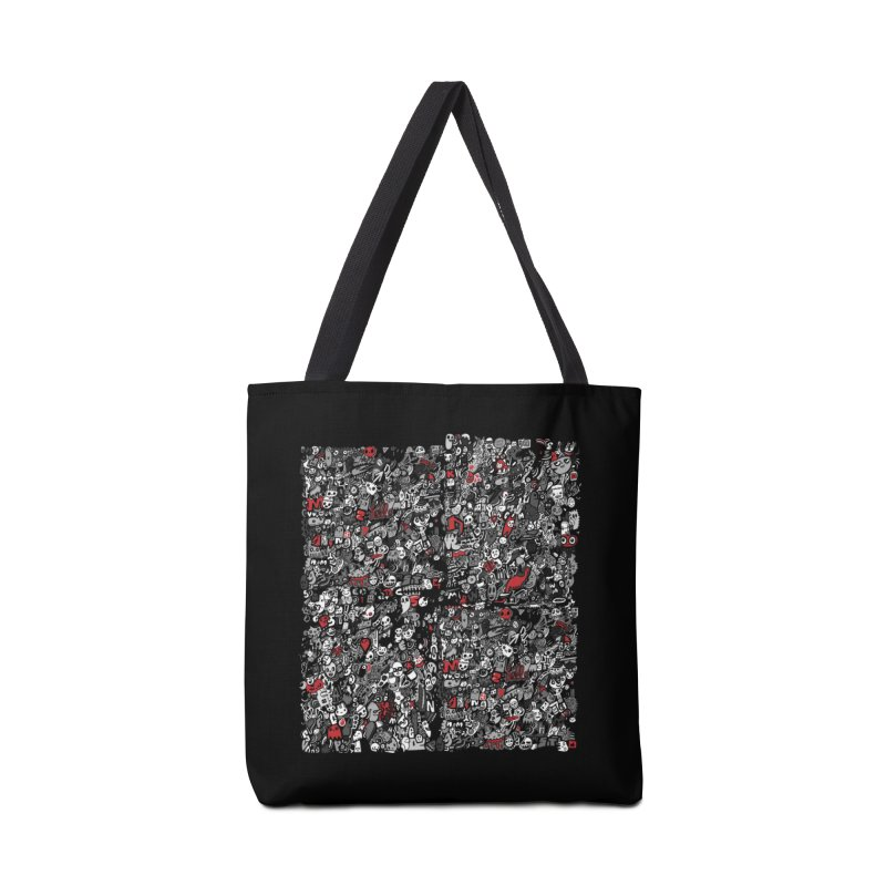 All of the Things Accessories Tote Bag Bag by wotto's Artist Shop
