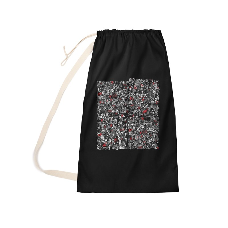 All of the Things Accessories Laundry Bag Bag by wotto's Artist Shop