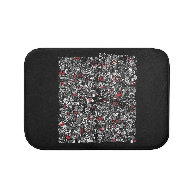 All of the Things Home Bath Mat by wotto's Artist Shop