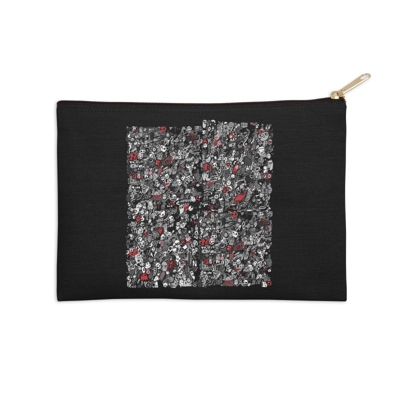 All of the Things Accessories Zip Pouch by wotto's Artist Shop