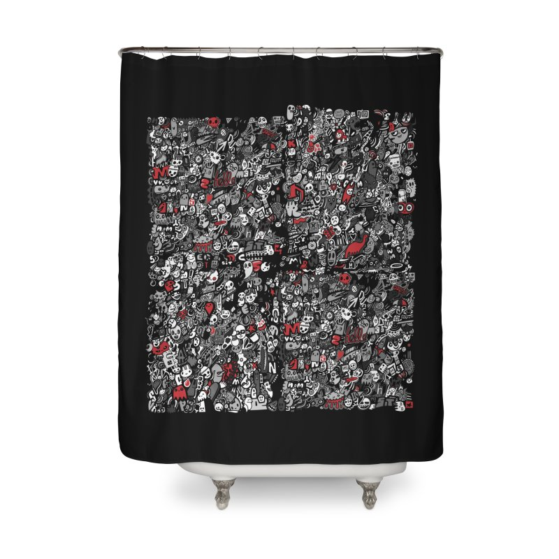 All of the Things Home Shower Curtain by wotto's Artist Shop