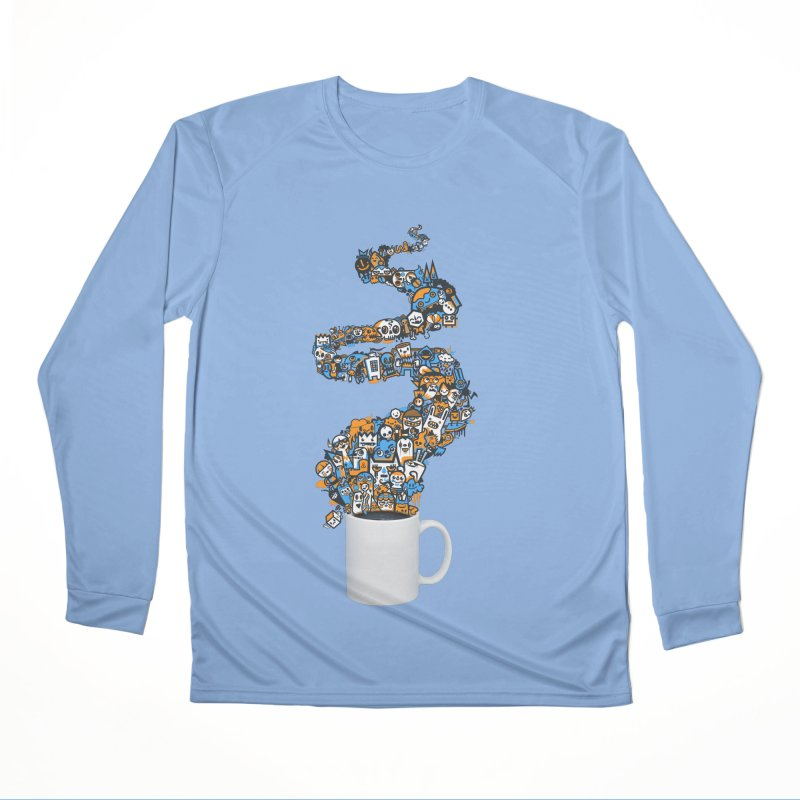 Wakey Wakey Men's Longsleeve T-Shirt by wotto's Artist Shop