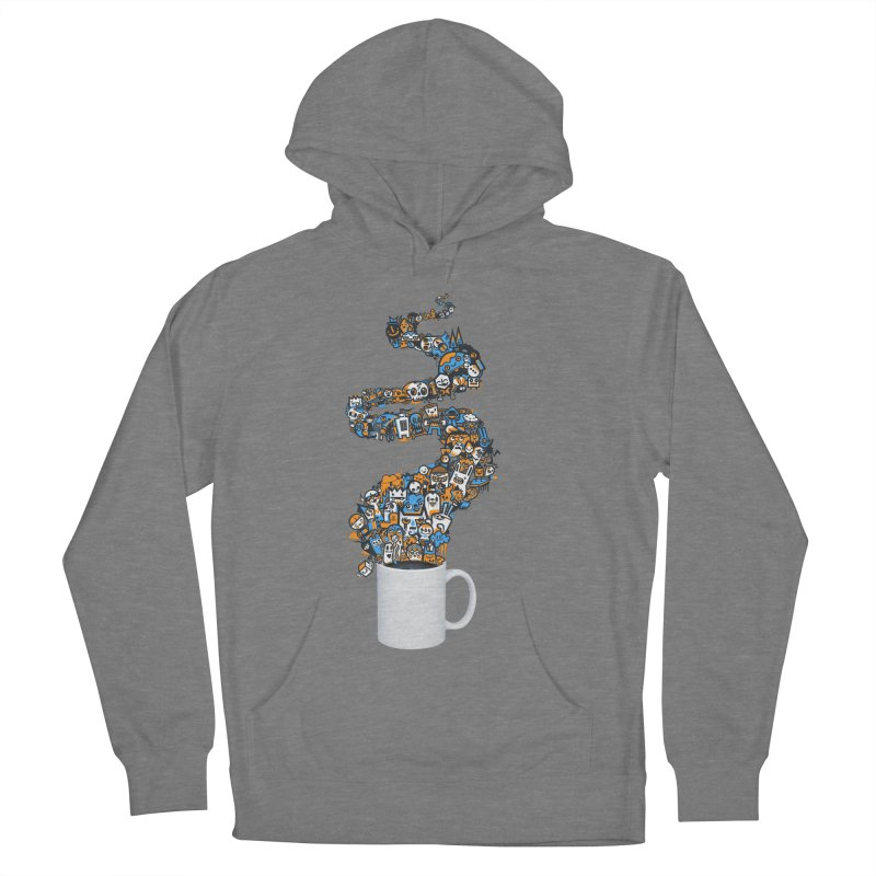 Wakey Wakey Men's French Terry Pullover Hoody by wotto's Artist Shop
