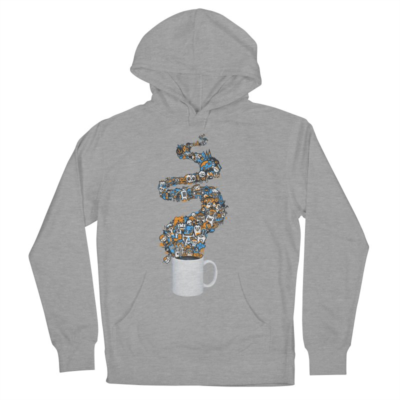Wakey Wakey Men's Pullover Hoody by wotto's Artist Shop