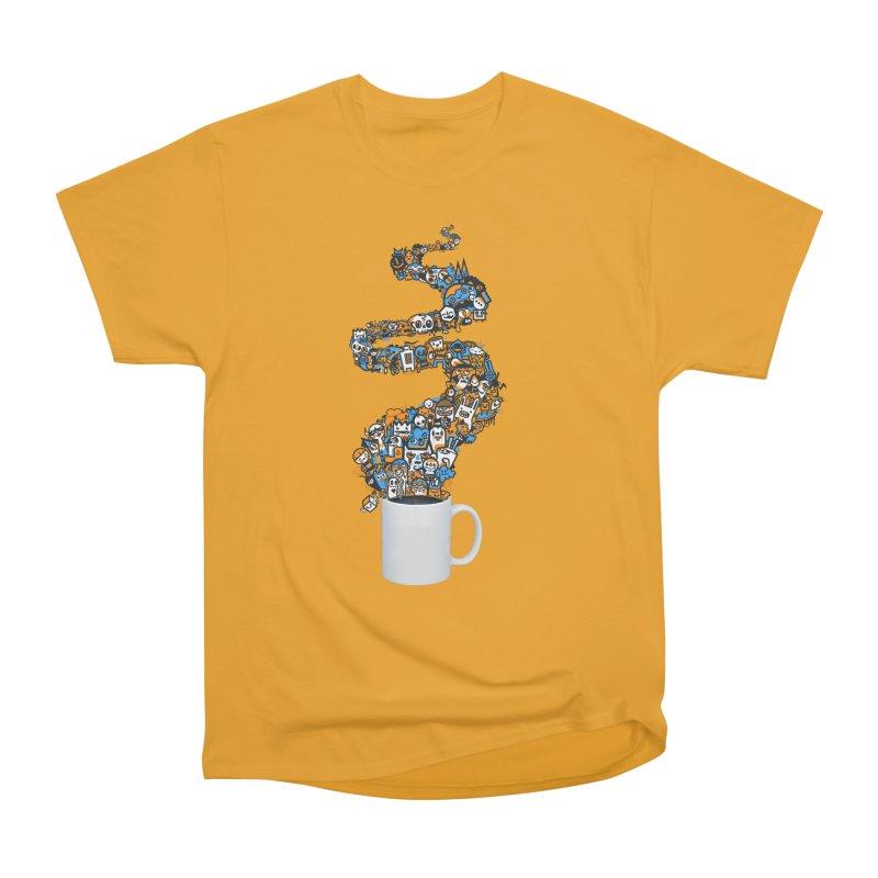 Wakey Wakey Women's Heavyweight Unisex T-Shirt by wotto's Artist Shop