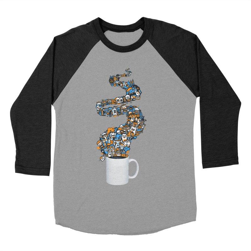 Wakey Wakey Men's Baseball Triblend T-Shirt by wotto's Artist Shop